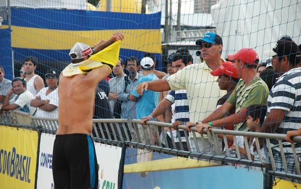Márcio, vôlei de praia (Foto: Lucas Barros / Globoesporte.com/pb)