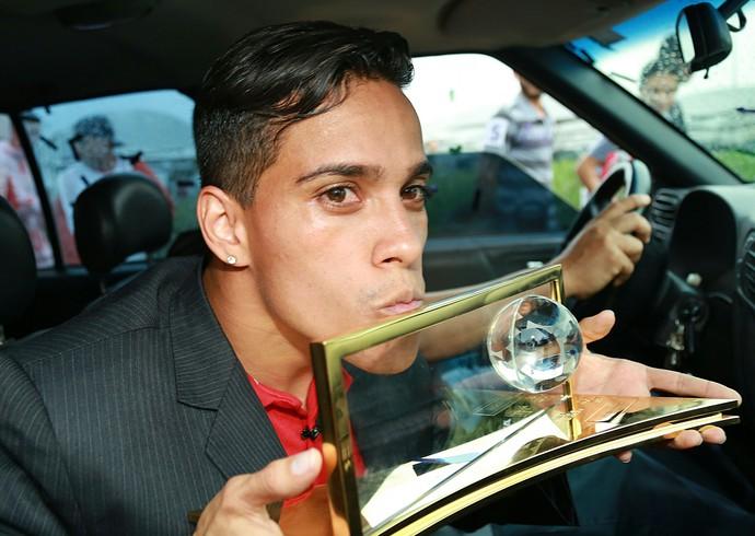 Wendell Lira, Prêmio Puskas (Foto: EFE)