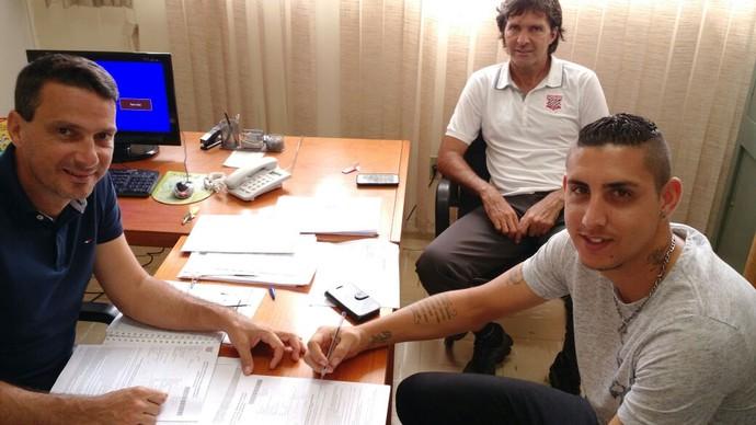 Rafael Caldeira, zagueiro, Paulista (Foto: Divulgação / BL Sports)