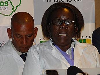 Milagros Cardenas Lopez, médica cubana (Foto: Luna Markman / G1)