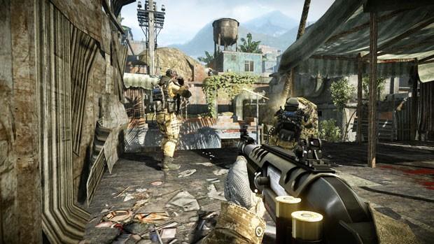 'Warface' tem gráficos similares ao game 'Crysis 3' (Foto: Divulgação/LevelUp!)