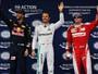 """Com classificação """"antiga"""" e Hamilton em último, Rosberg faz a pole na China"""