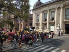 Professores realizam ato e pedem impeachment do governador do RS