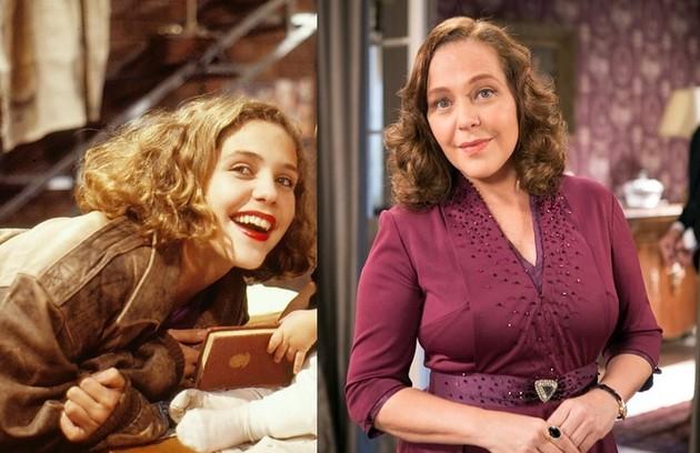 Isabela Garcia interpretou Ana, mulher que deu à luz sua filha enquanto fugia de um assalto. Seu último papel na TV foi em 'Êta mundo bom!' (Foto: Reprodução)