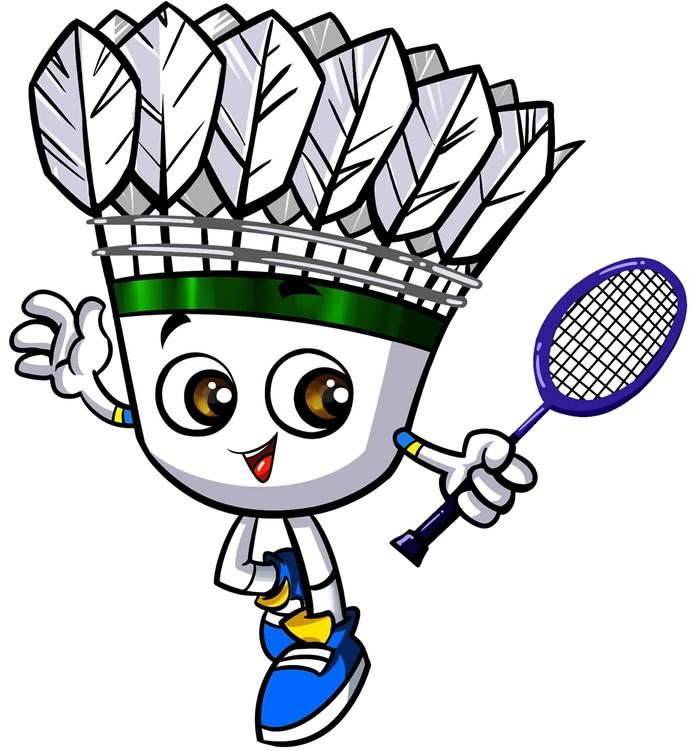Super Minton, Zé Peteca ou Petekin? Batismo do mascote do badminton será feita pelas redes sociais (Foto: Divulgação)