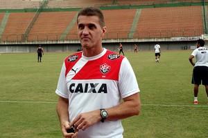 Mancini; treino; Vitória; Pituaçu (Foto: Rafael Santana)