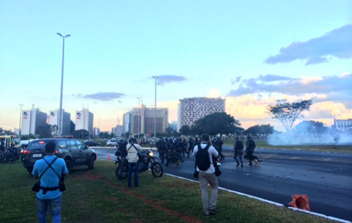 Protesto Copa do Mundo Belo Horizonte (Foto: Fabrício Marques)