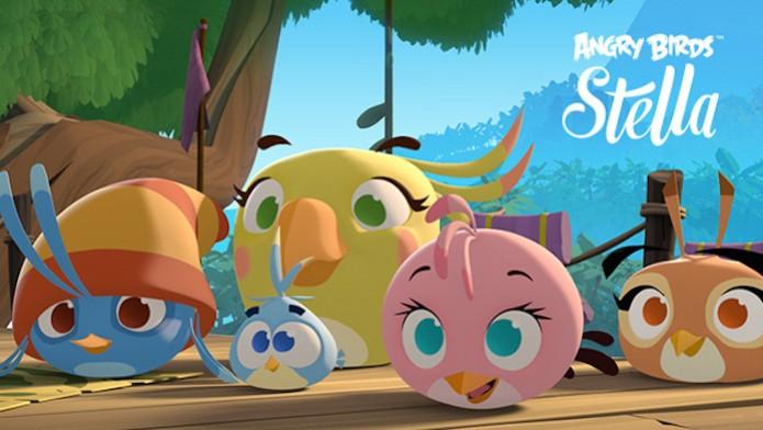 Angry Birds Stella, da Rovio, já está disponível para iOS e Android (Foto: Divulgação/Rovio)