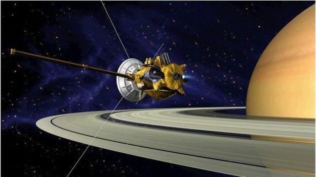 A Cassini fará um voo suicida em direção a superfície de Saturno em 2017 (Foto: Nasa)