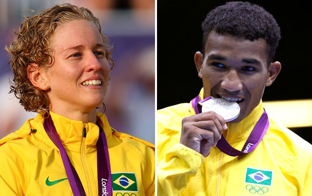 campanha premio brasil olimpico 3 (Foto: Montagem sobre foto da Getty Images)