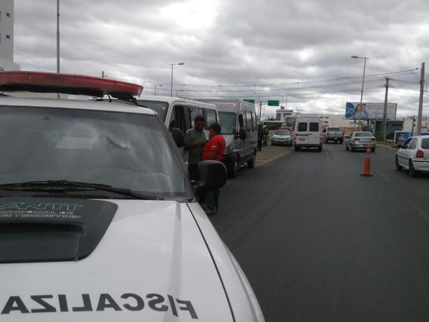 Fiscalização aocnteceu na Ponte Presidente Dutra  (Foto: Divulgação/ANTT)