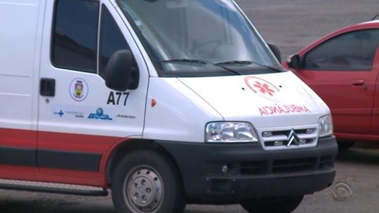 Sem ambulância do Samu, Erechim usa veículo de cidade vizinha no RS