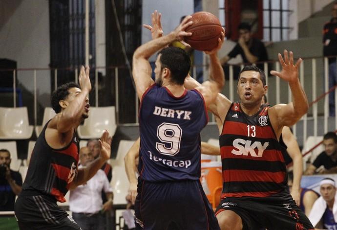 Flamengo Brasília NBB basquete (Foto: Gilvan de Souza/Flamengo)