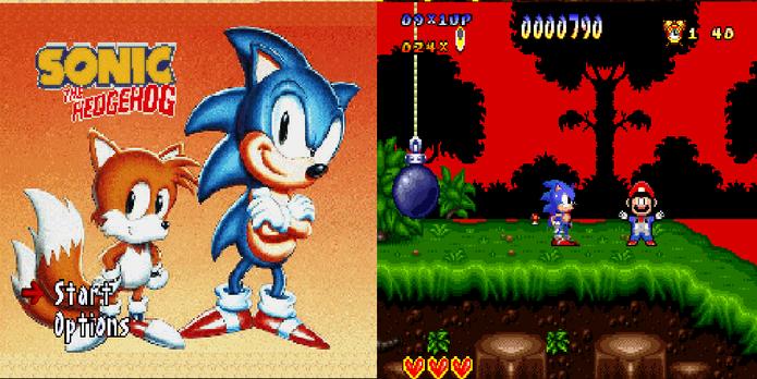 Sonic vs Mario no Super Nintendo? (Foto: Reprodução/GameFreaks)