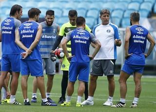 Renato Portaluppi Grêmio grupo time  (Foto: Lucas Uebel/Grêmio)