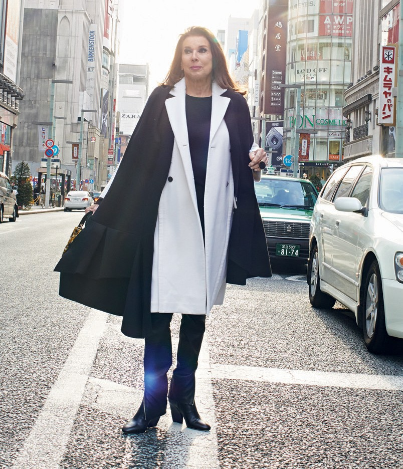Victoire em Tóquio para o desfile da coleção pre-fall 2015 da Dior (Foto: Mark Shaw e Divulgação)