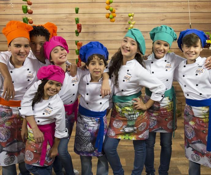 Participantes do 'Super Chefinhos 2016' (Foto: Globo/Renato Rocha Miranda)