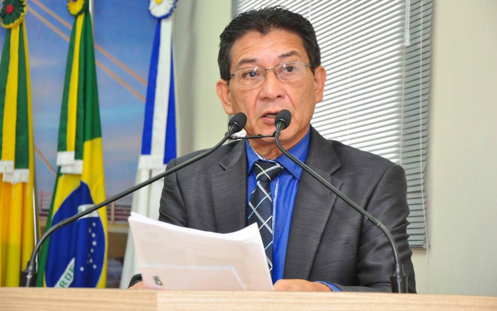 Vereador Juruna teve pedido de afastamento sem ônus aprovado pela Câmara de Rio Branco (Foto: Divulgação/Asscom Câmara de Vereadores de Rio Branco)