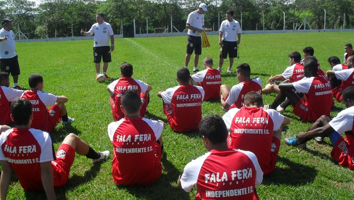 Independente de Limeira treino (Foto: Divulgação / Independente de Limeira)