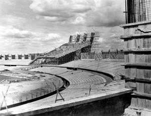 obras estádio mineirão 1964 (Foto: Divulgação)
