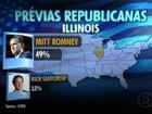 Romney ganha prévia republicana em Illinois, reduto de Obama