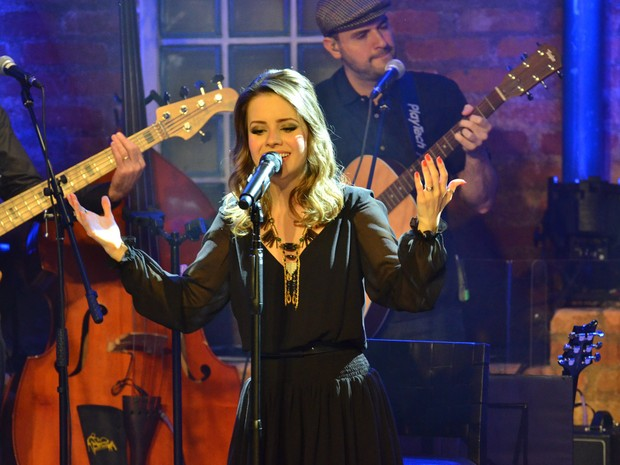Sandy faz show em São Paulo (Foto: Caio Duran/ Ag. News)