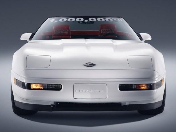 Corvette número 1 milhão restaurado (Foto: Divulgação)