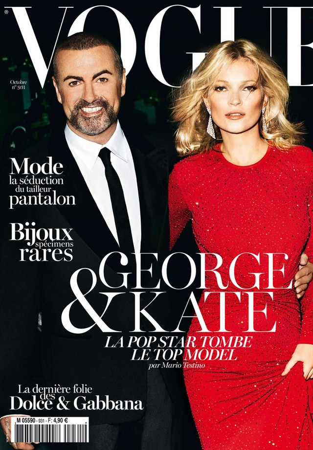 Kate Moss & George Michael (Foto: Vogue Paris)