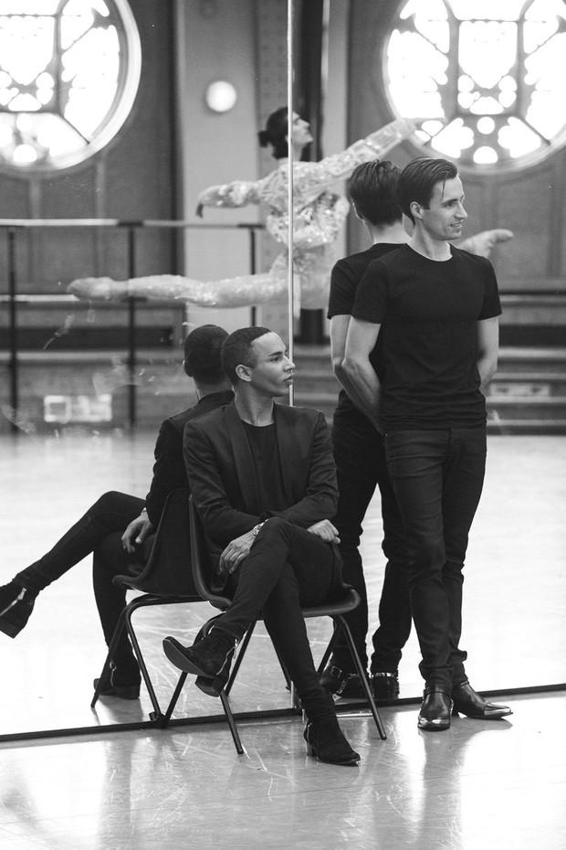 Balmain x Ópera de Paris (Foto: Reprodução / Luc Braquet)
