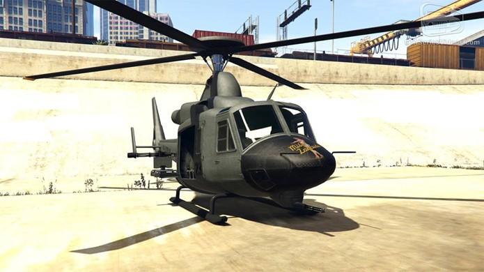 O Valkyrie não conta com os armamentos do Savage, mas traz velocidade para o voo (Foto: Reprodução/GTA-Series)