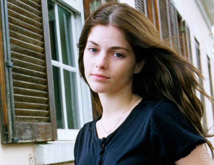 Ana Paula Tabalipa na minissérie Luna Caliente, em 1999 (Foto: TV Globo)