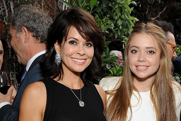 Brooke Burke-Charvet e Neriah Fisher (Foto: Getty Images)