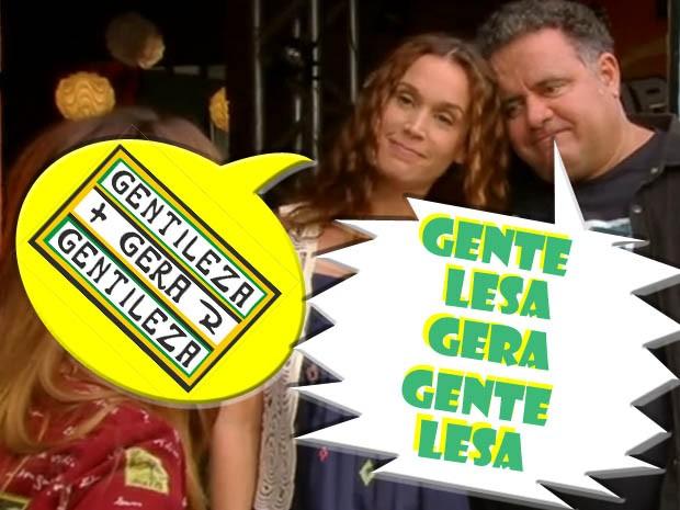 Tizinha e Nando (Foto: Malhação / TV Globo)