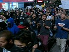 Três pessoas ficam feridas em manifestação em São Paulo