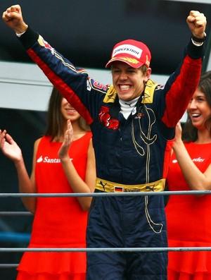 Sebastian Vettel vence em Monza-2008