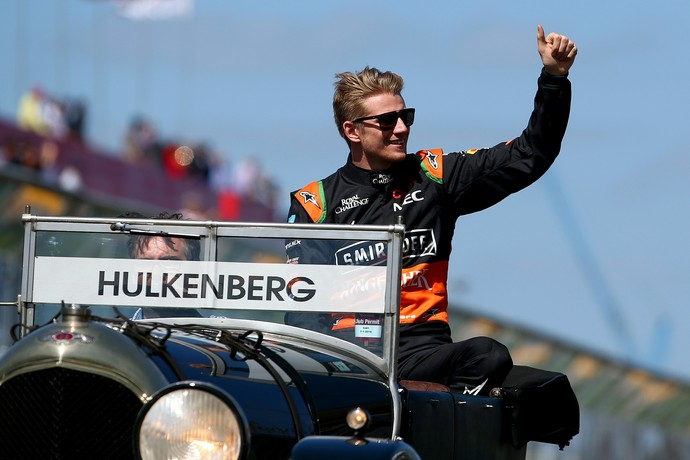Nesta temporada, o alemão da Force India é o 12º colocado do Mundial de Pilotos Nico Hulkenberg (Foto: Getty Images)