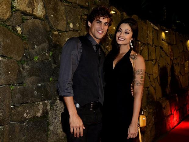 Aline Riscado e Felipe Roque (Foto: RobertoTeixeira / EGO)
