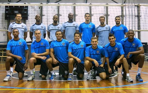 Time Botafogo vôlei de quadra Supercopa Uberlândia (Foto: Carol Fontes)
