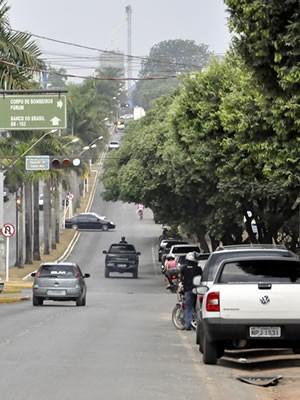 Sorriso, cidade de MT (Foto: Leandro J. Nascimento/G1)