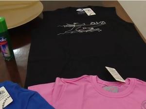 camiseta repelente de mosquitos sc (Foto: Reprodução/RBS TV)