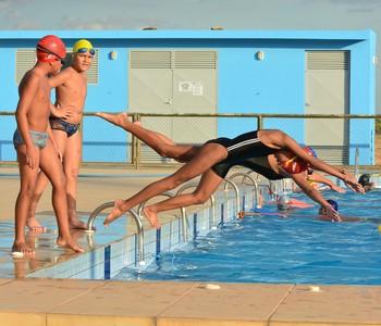 Escolinha da Vila Olímpica (Foto: Ascom PMBV)