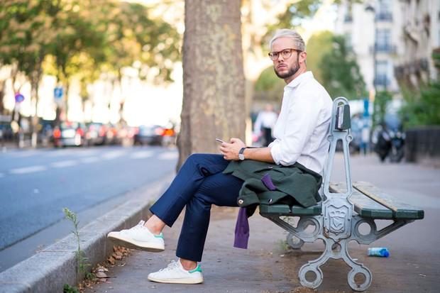 Street Style - Semana de Moda de Paris verão 2017 (Foto: IAXTREE)