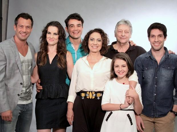 Elenco de 'Amor À Vida' (Foto: Alex Palarea e Léo Marinho/ Ag. News)