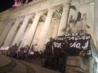 Ato de professores vai do Palácio à Alerj, e atrapalha trânsito no Rio