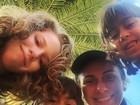 Giovanna Antonelli comemora aniversário do filho, Pietro, em família