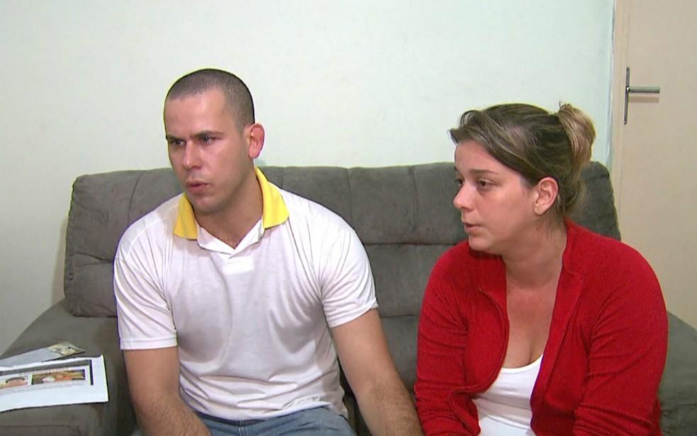 Guilherme Raymo Longo e Natália Mignone Ponte: padrasto e mãe do menino Joaquim Ponte Marques, são acusados do crime (Foto: Reprodução/EPTV)