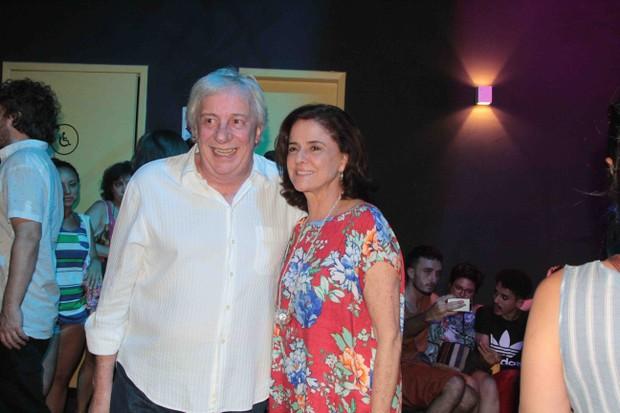 Marco Nanini e Marieta Severo (Foto: Marcos Fernandes / Agnews)