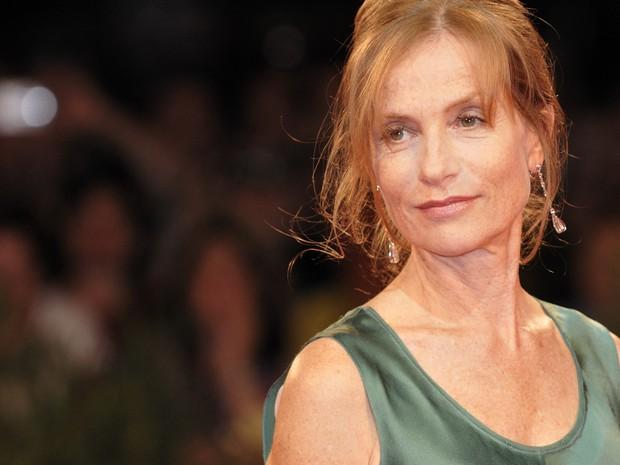 Isabelle Huppert - atriz será a musa do festival Varilux de cinema (Foto: Divulgação)