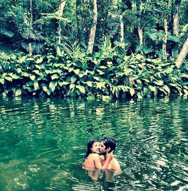 Andreia e Patrick (Foto: Reprodução/Instagram)