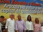 PCdoB lança Edvaldo Nogueira como pré-candidato a prefeito de Aracaju